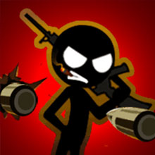 Stickman Laser Shoot Game