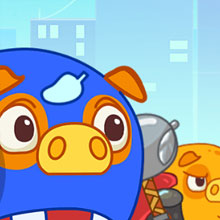 Mango Piggy Piggy Hero Game