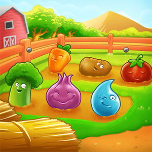 Play Farm Puzzle Story2 Game Online