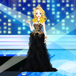 Play Black Style Dresses Girl Game Online