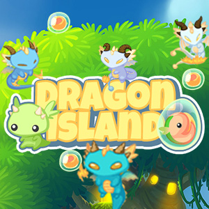 2048 Dragon Island Game