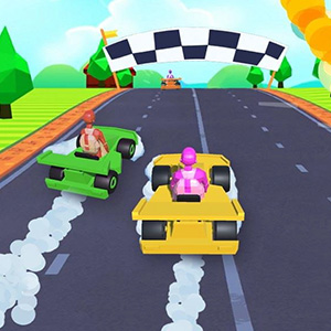 Gliding Car Race Game