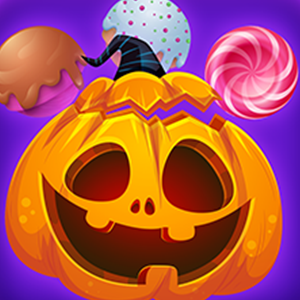 Trick Or Treat Bubble Shooter Game