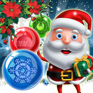 Xmas Bubble Army Game